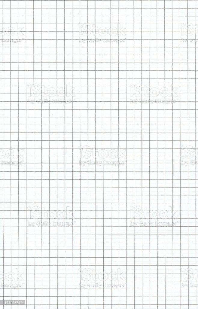 White squared paper stock photo