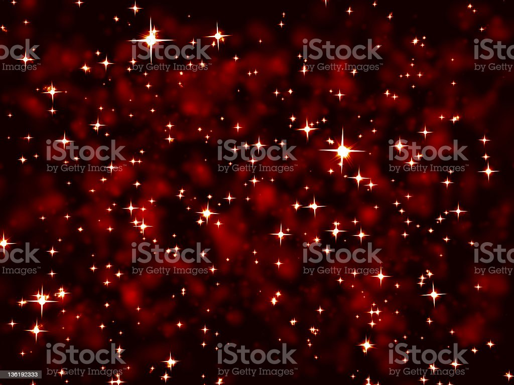 White stars against nebula (XXXL) royalty-free stock vector art