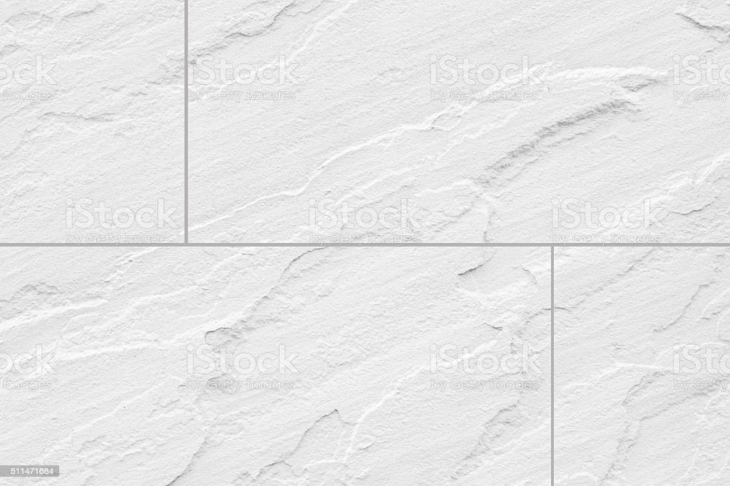 White Stone Floor Tile Seamless Background And Texture Stock Image