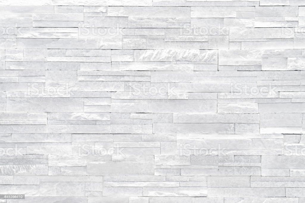 White stone wall background stock photo