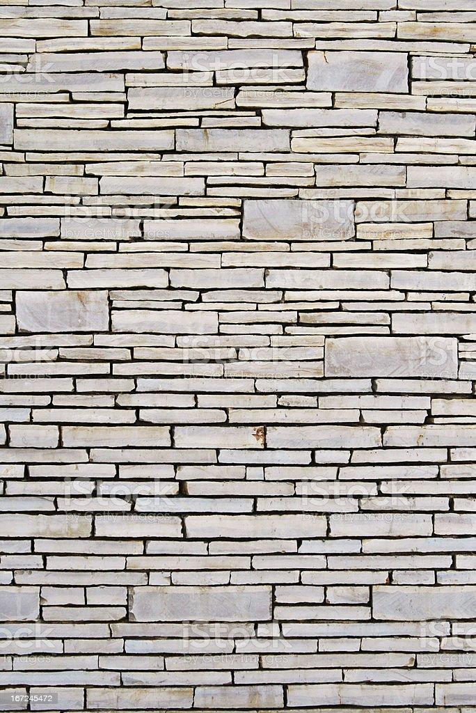 White stone wall texture royalty-free stock photo