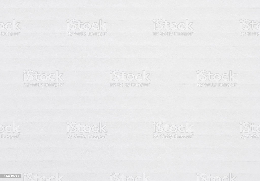 White Striped Cardboard Background stock photo