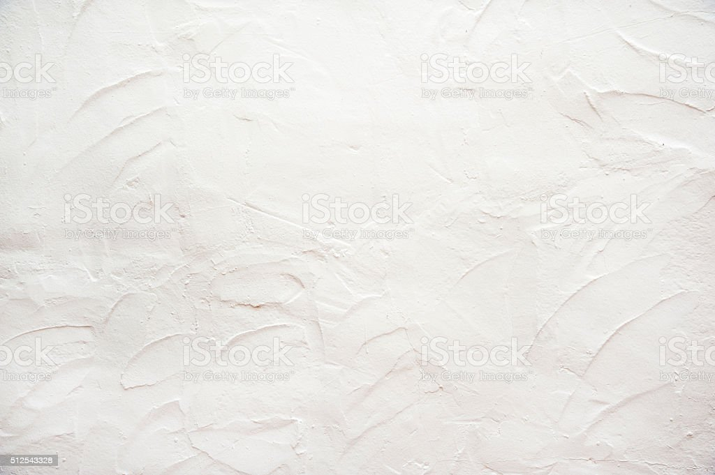 White stucco background texture stock photo