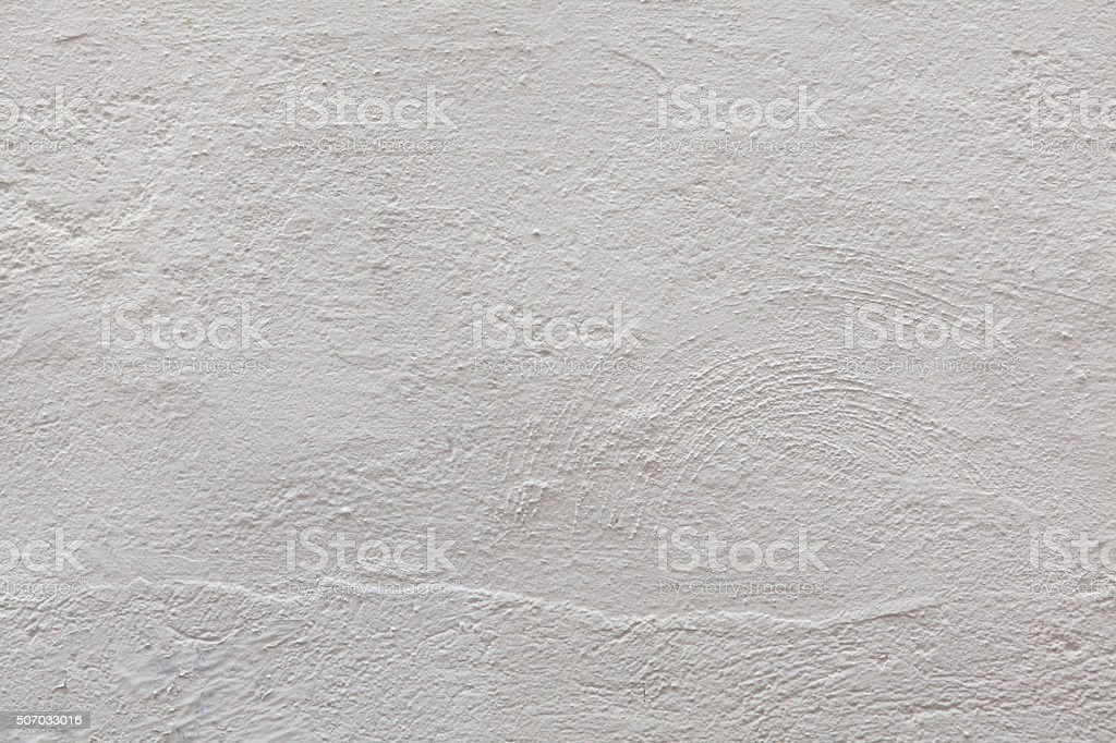 White stucco wall. Background texture stock photo