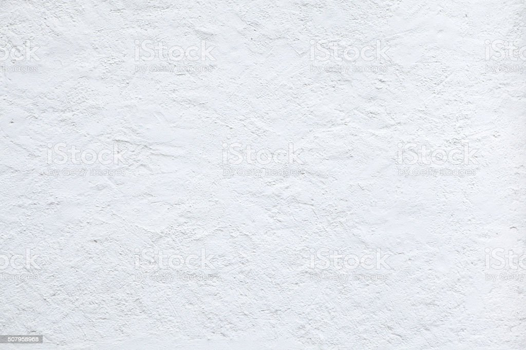 White stucco wall. Background texture stock photo