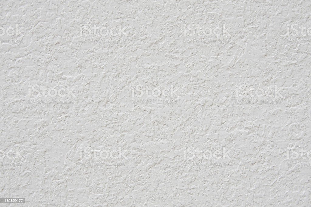 White Stucco Wall stock photo