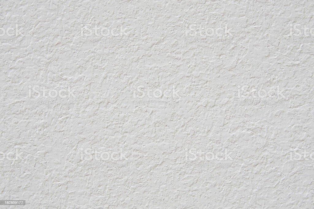 White Stucco Wall stock photo