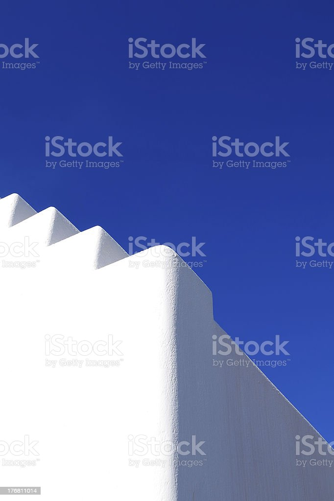 White Style Building royalty-free stock photo