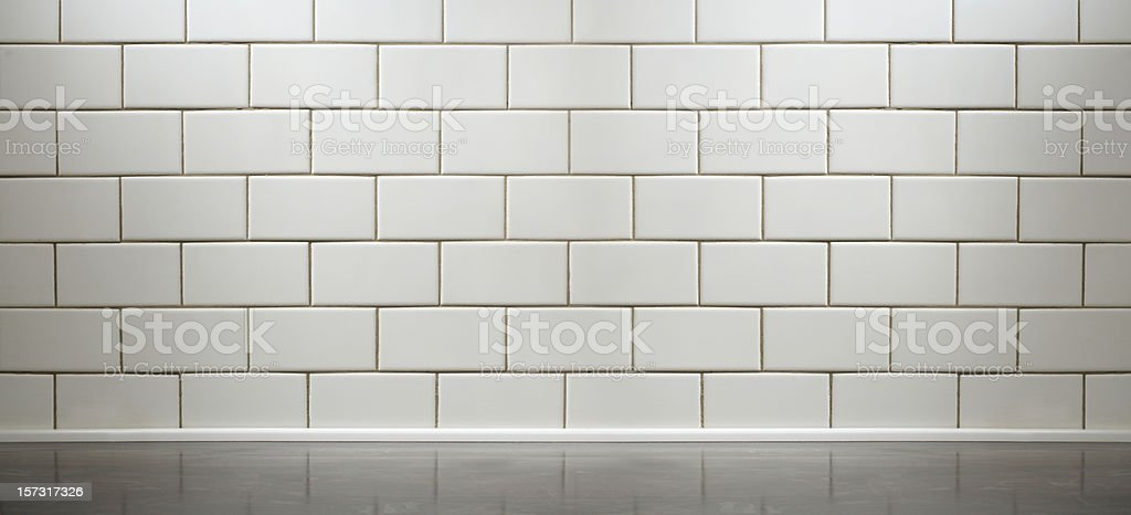white subway tile kitchen counter stock photo