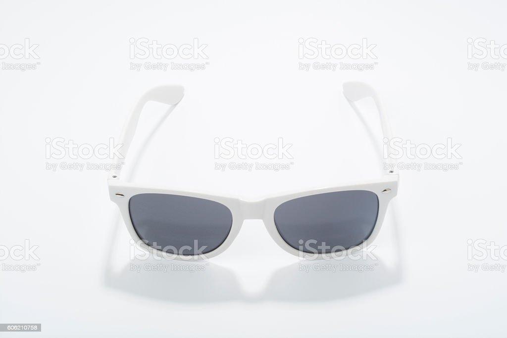 White Sunglasses stock photo