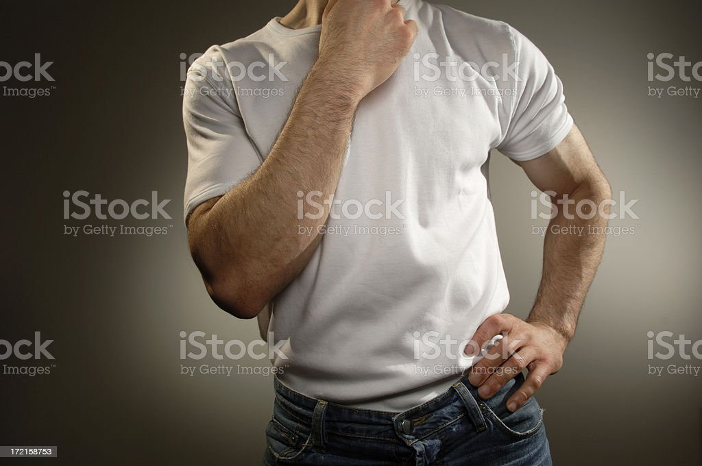 white t shirt series royalty-free stock photo