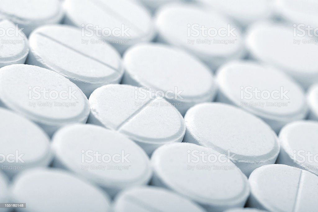 White tablet background royalty-free stock photo