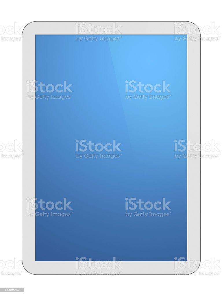 White Tablet PC royalty-free stock photo