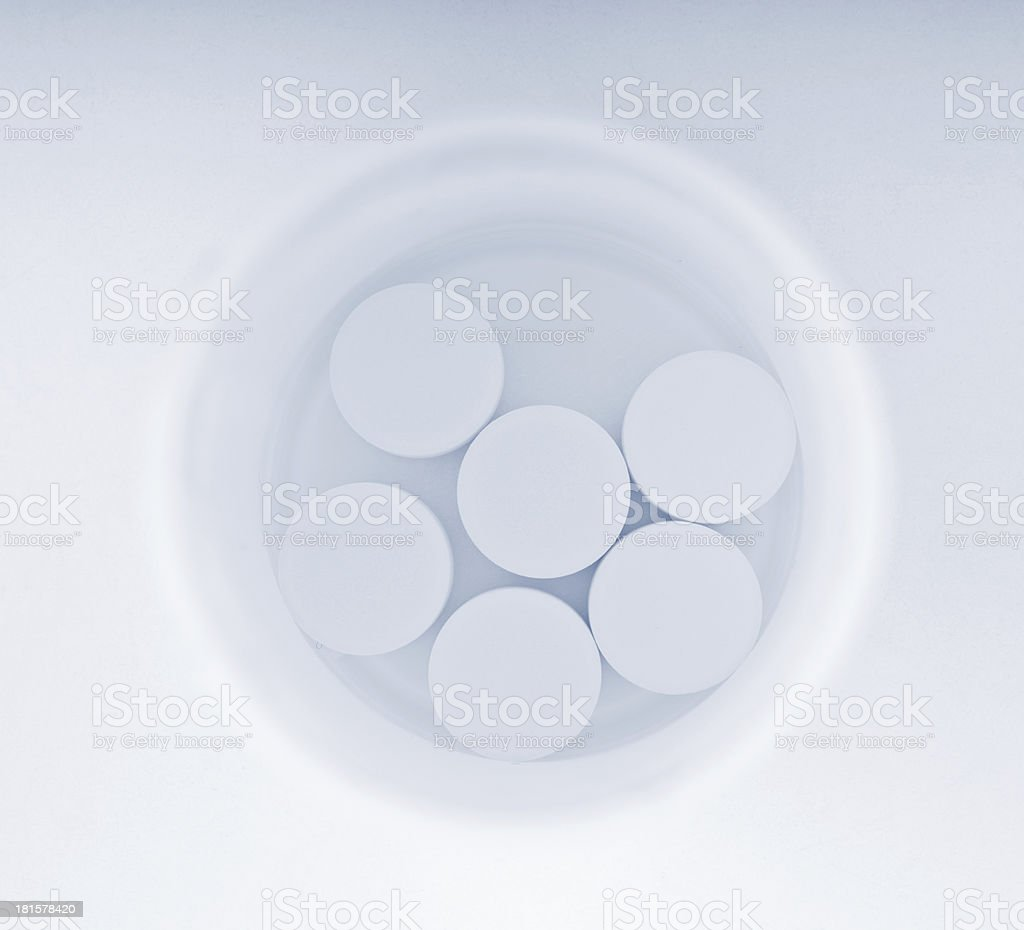 white tablet pills royalty-free stock photo