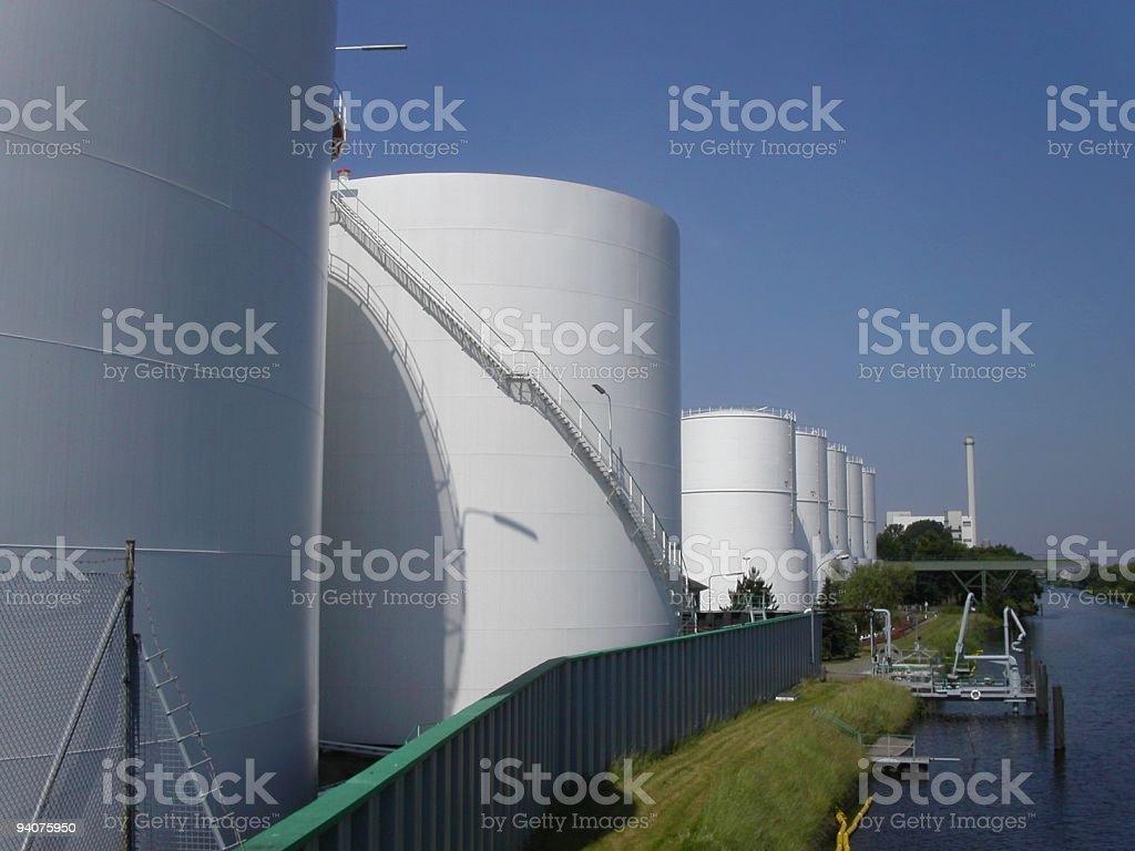 White Tanks stock photo