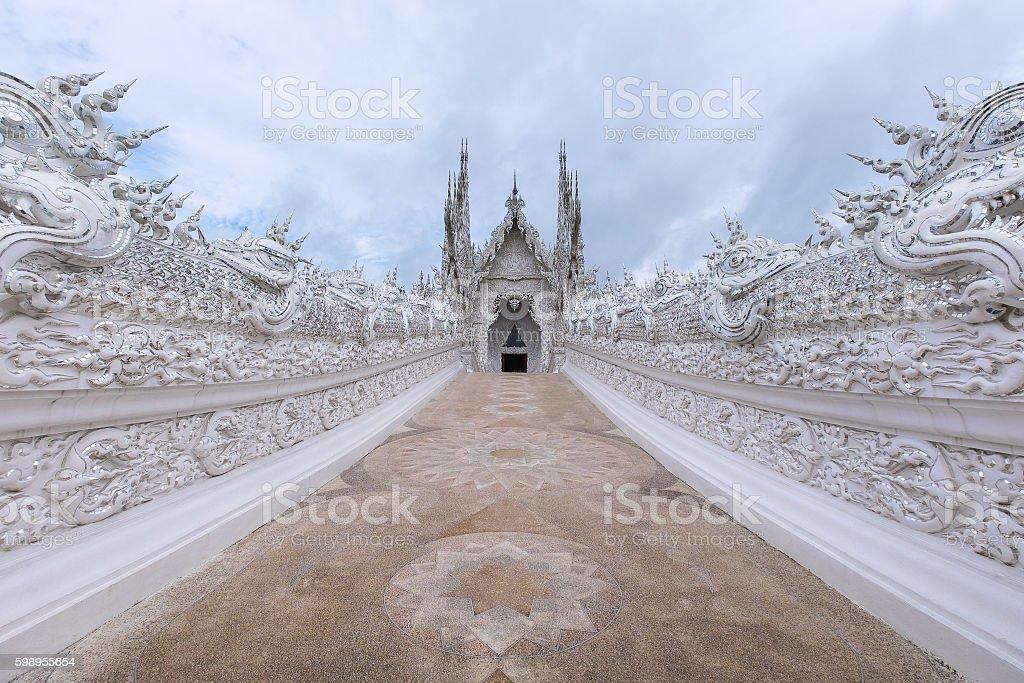 White Temple stock photo