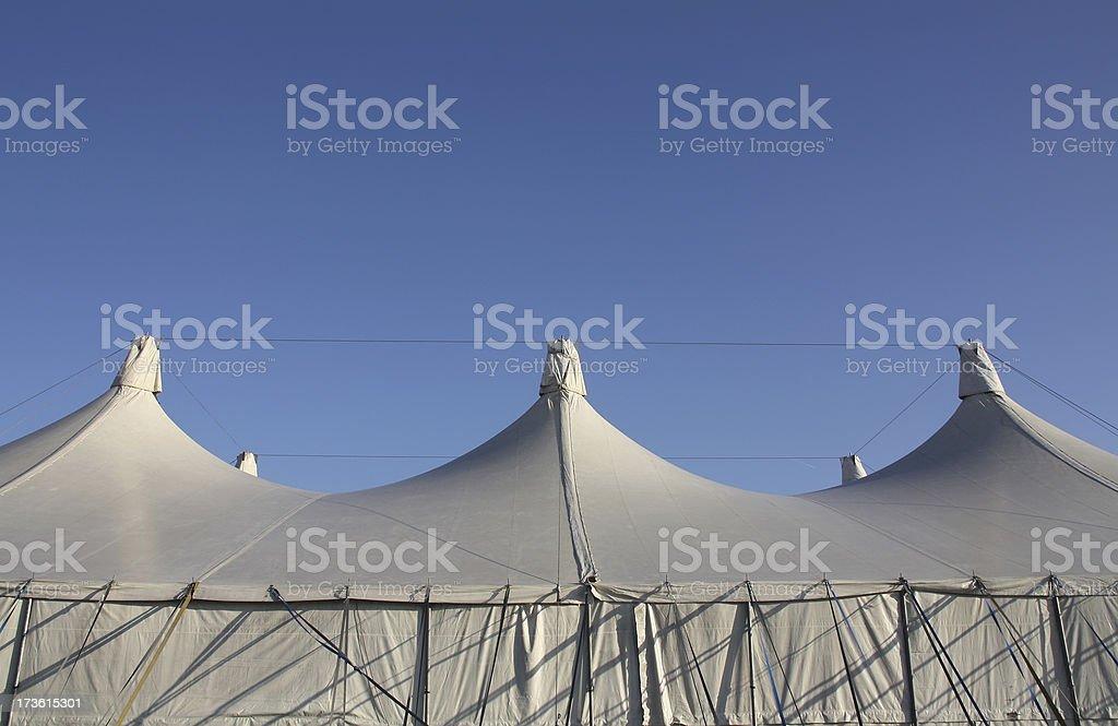 White Tent royalty-free stock photo