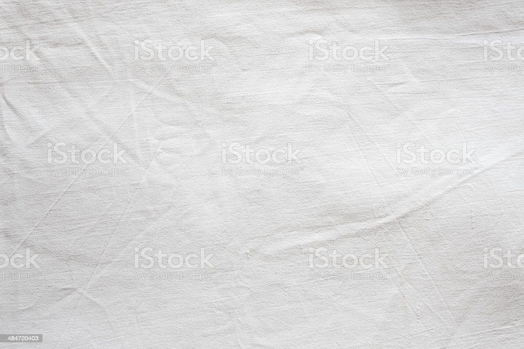 White Textile Background. stock photo