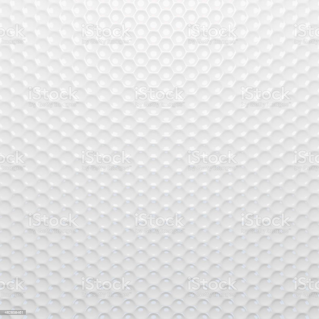 White texture wallpaper. Golf ball background stock photo