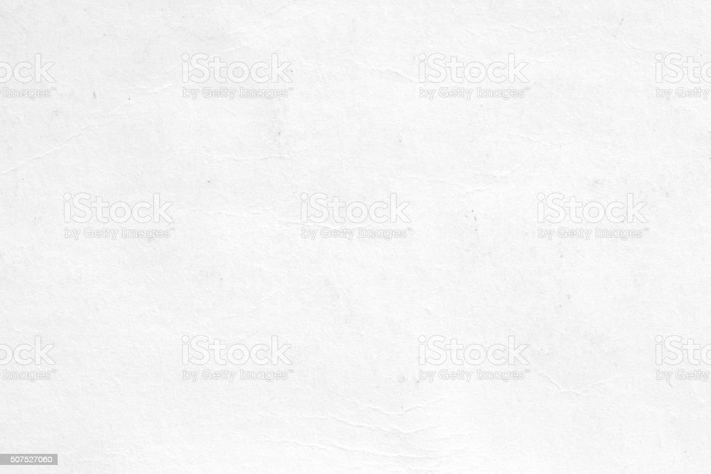 White textured paper background. stock photo