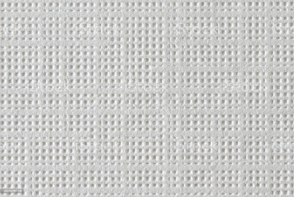 White Textured Paper Macro stock photo