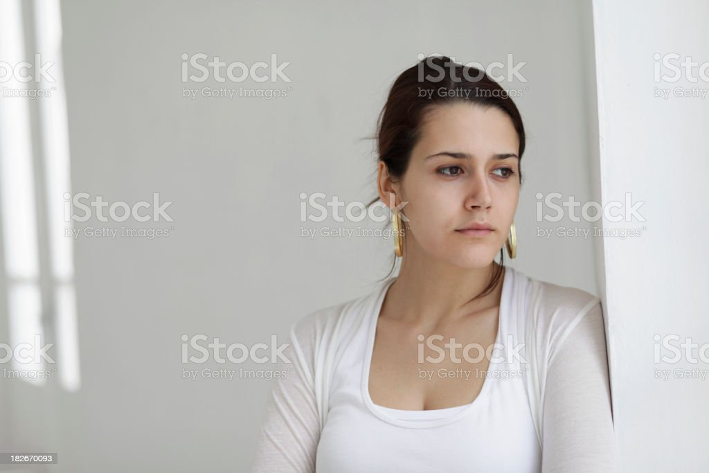 White Thoughts royalty-free stock photo