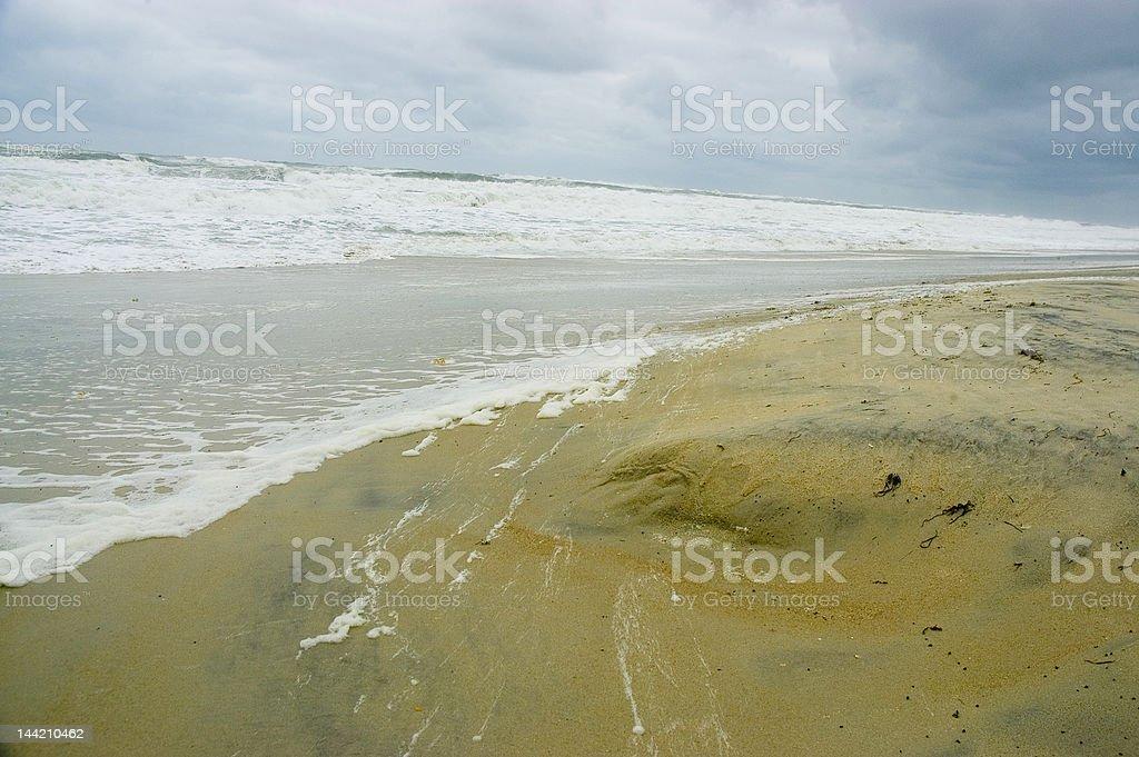 White Tide royalty-free stock photo