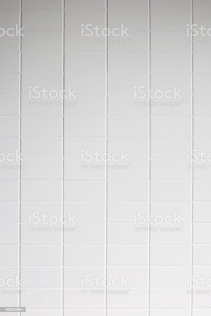 White tile wall texture background stock photo