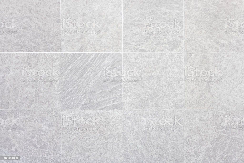 White Tiled Marble Floor Background stock photo