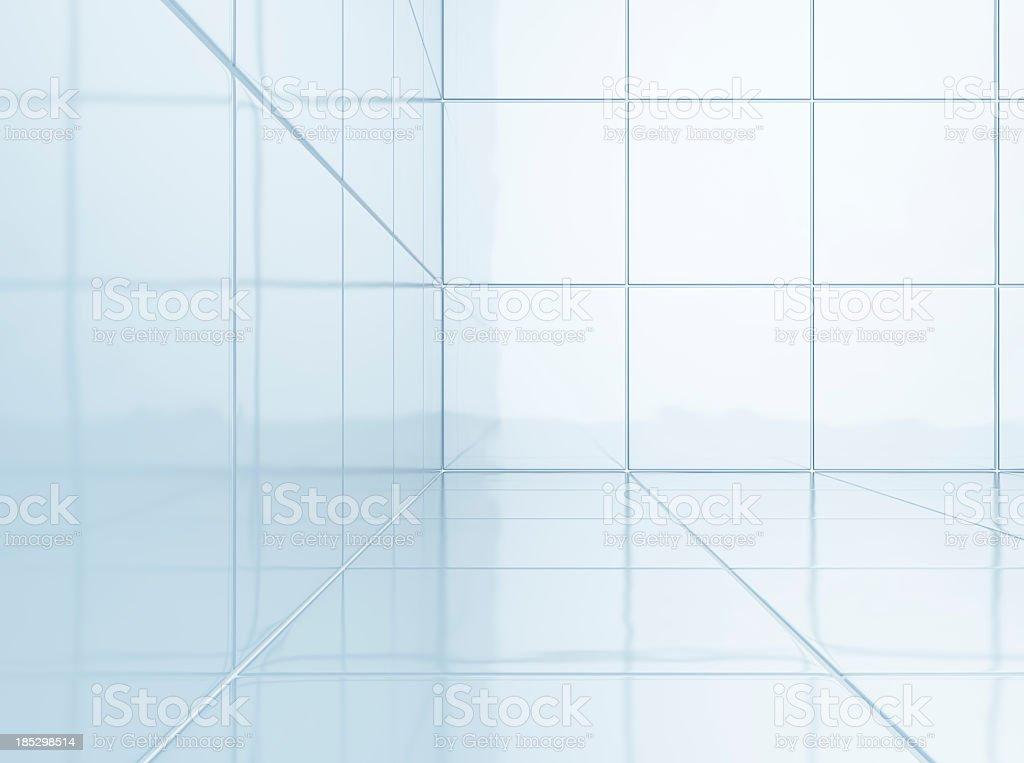 White Tiles in bathroom royalty-free stock photo
