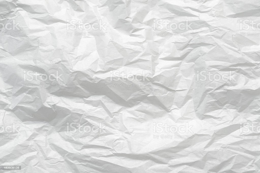 White Tissue Paper stock photo