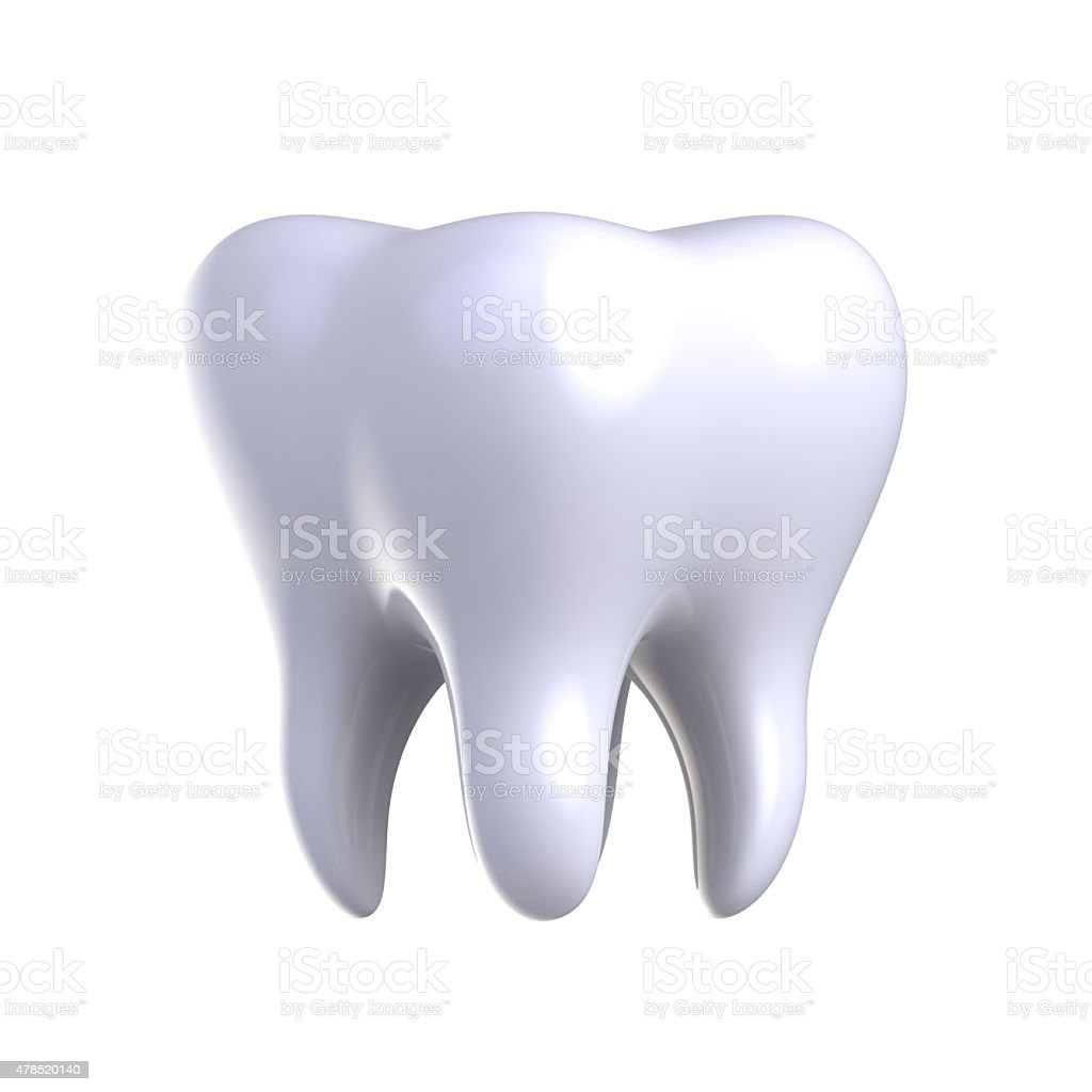 White tooth. royalty-free stock vector art