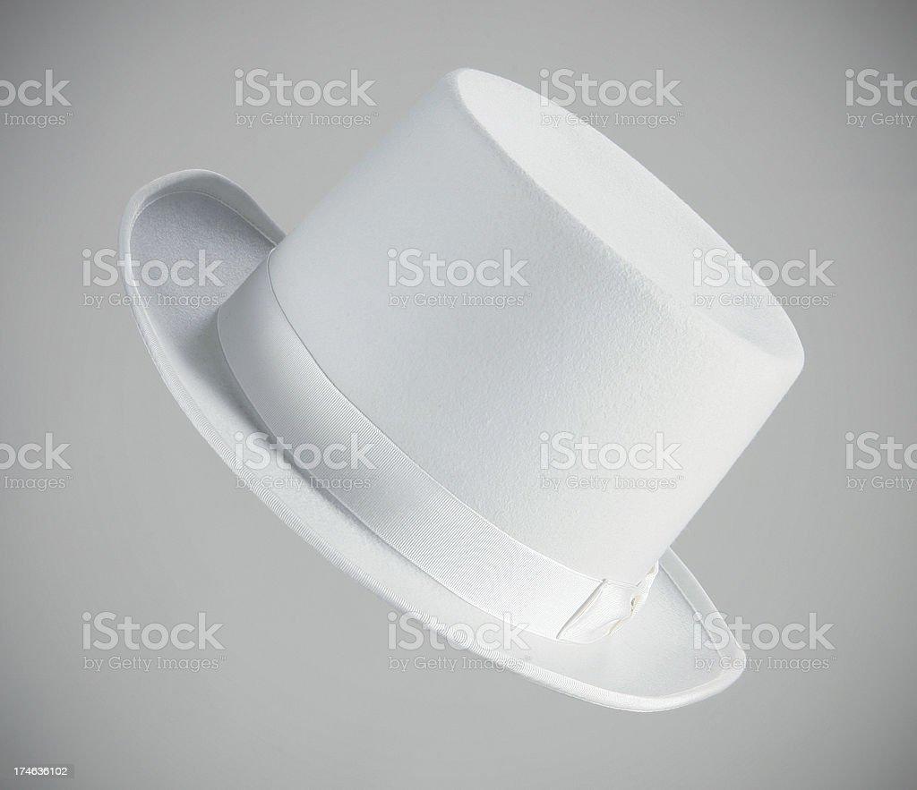 White topper royalty-free stock photo