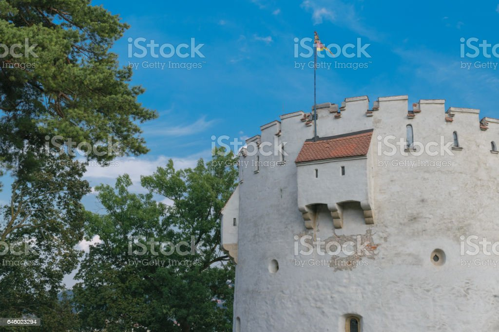 White Tower, Brasov, Transylvania, Romania stock photo
