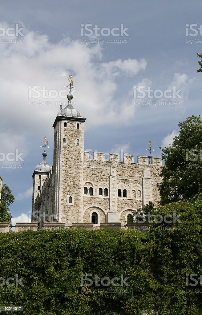 White Tower, London stock photo