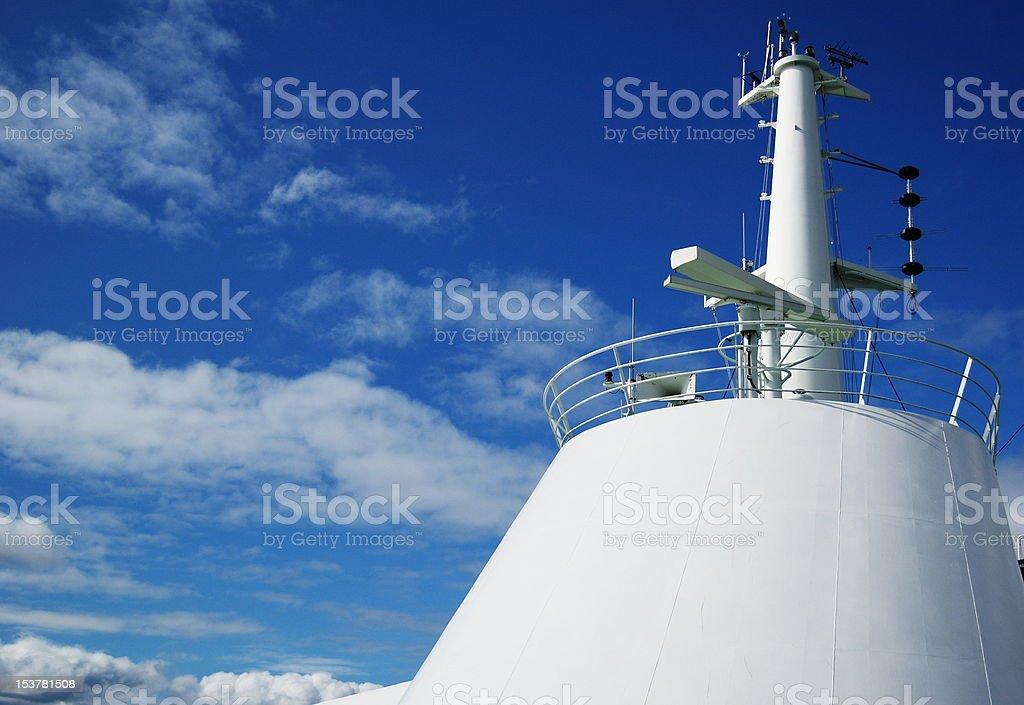 White tower stock photo