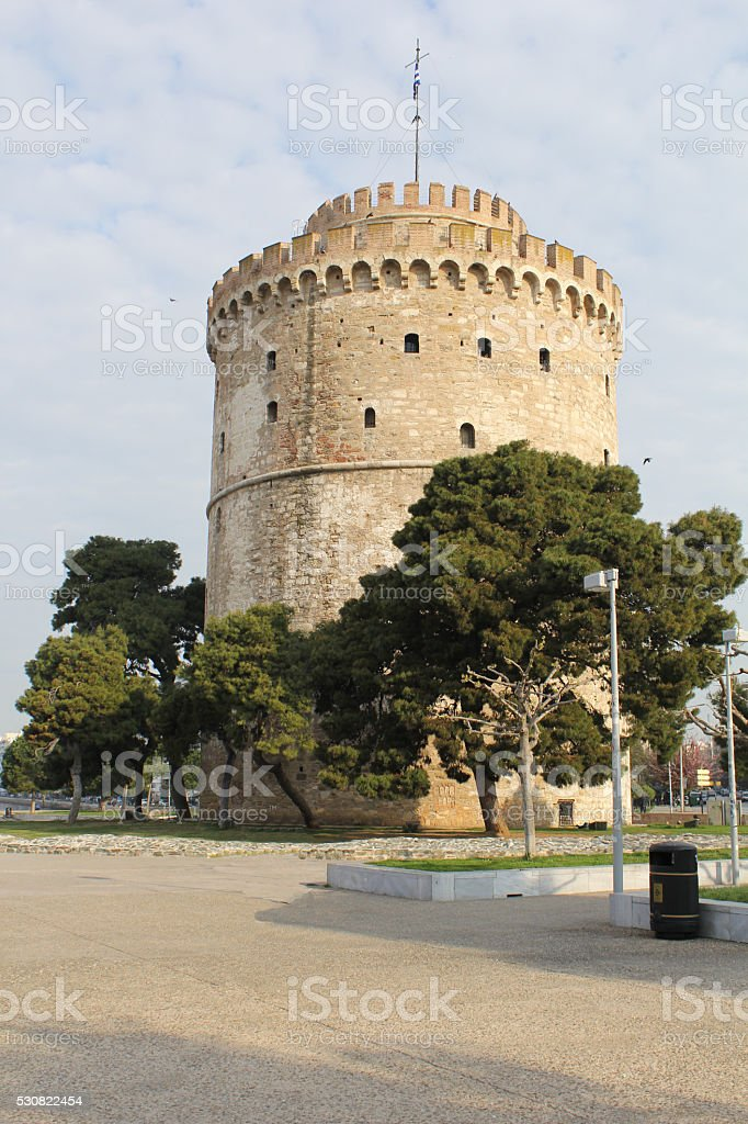 White Tower, Thessaloniki stock photo
