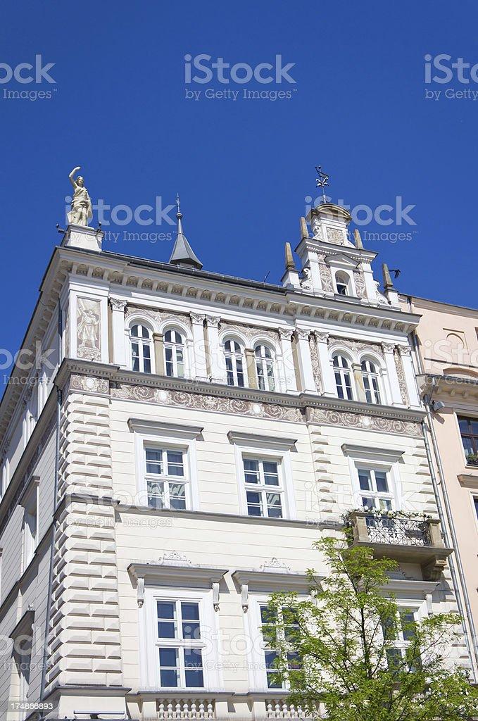 White townhouse royalty-free stock photo