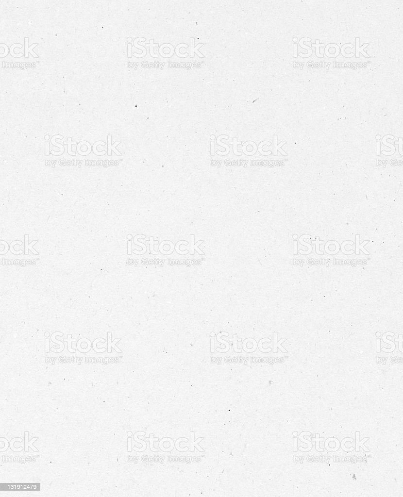 White traditional uneven paper texture on white background royalty-free stock photo