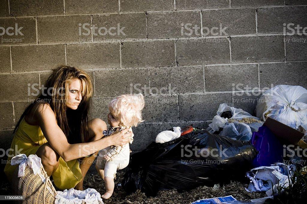 white trash royalty-free stock photo