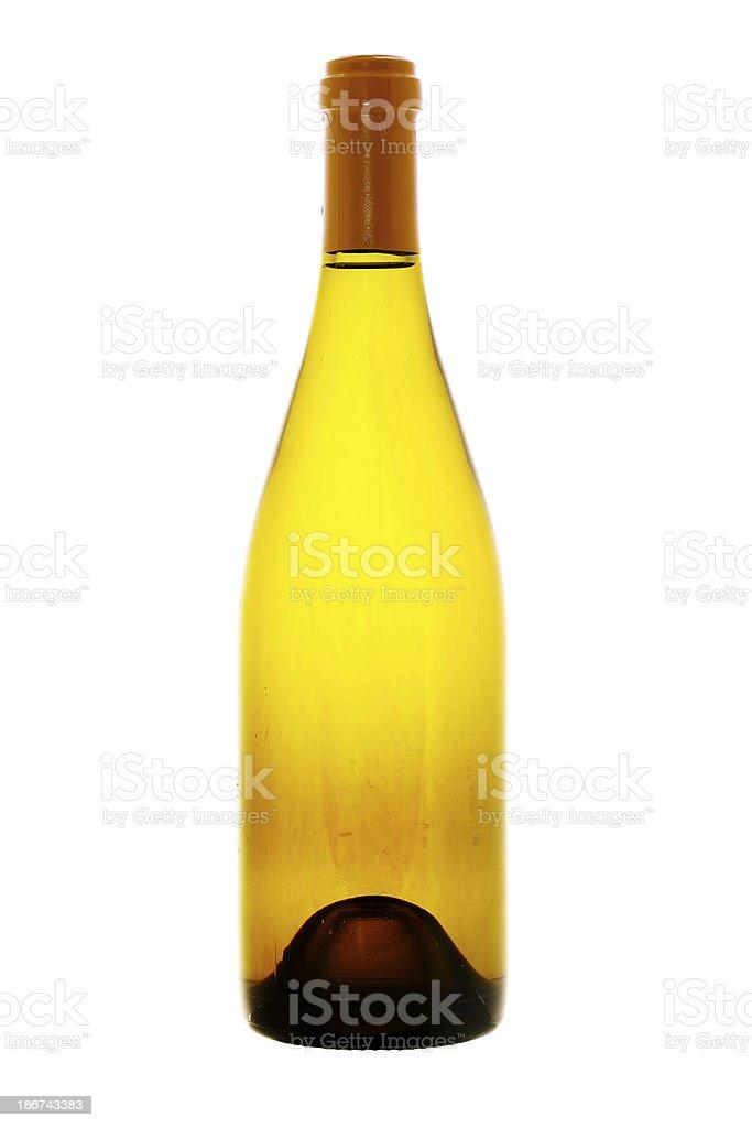 White Trebbiano Wine stock photo