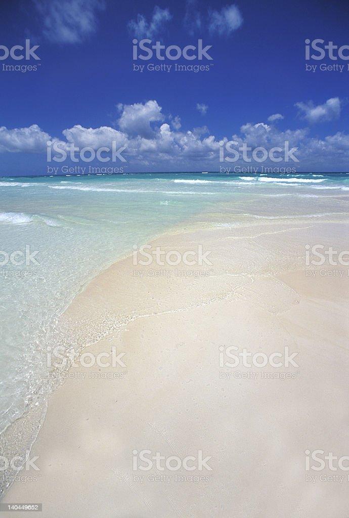 white tropical beach royalty-free stock photo