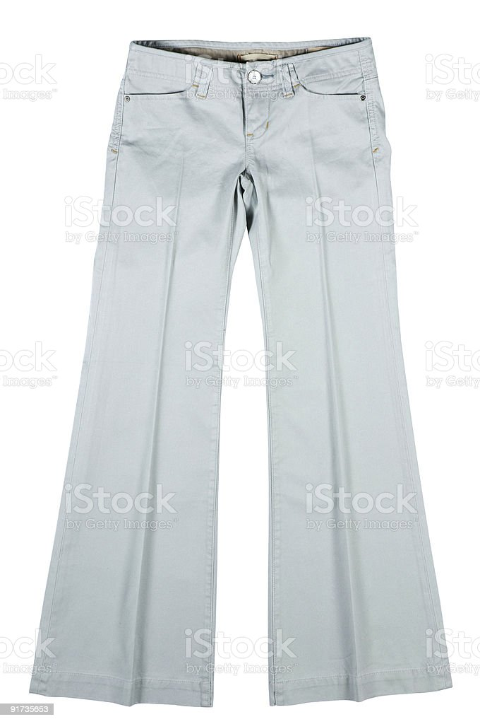 white  \ttrousers royalty-free stock photo