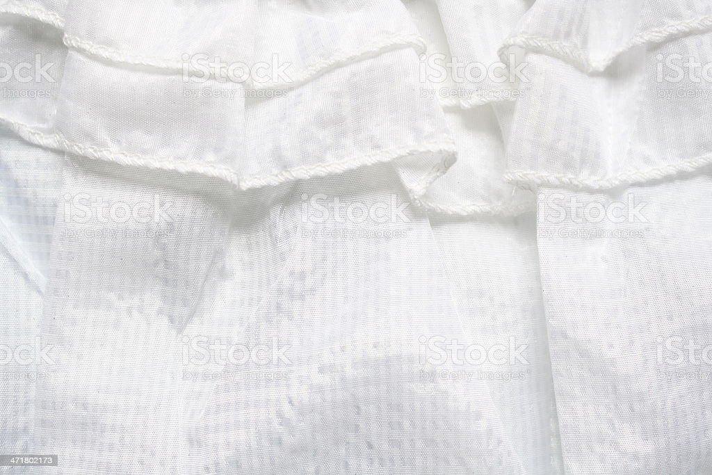 white tulle royalty-free stock photo