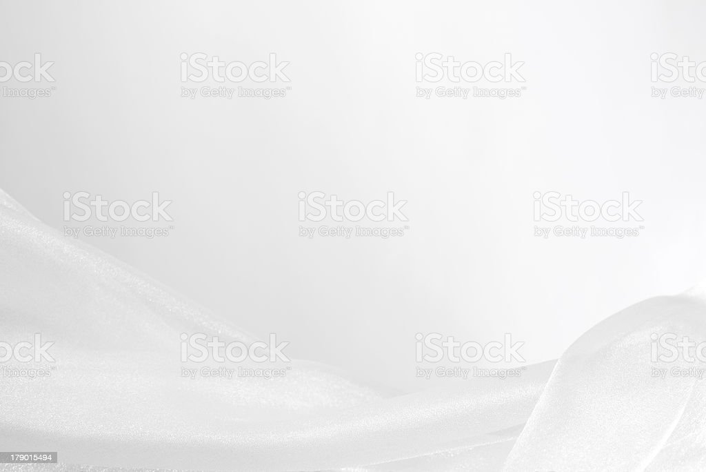 White tulle with background. stock photo