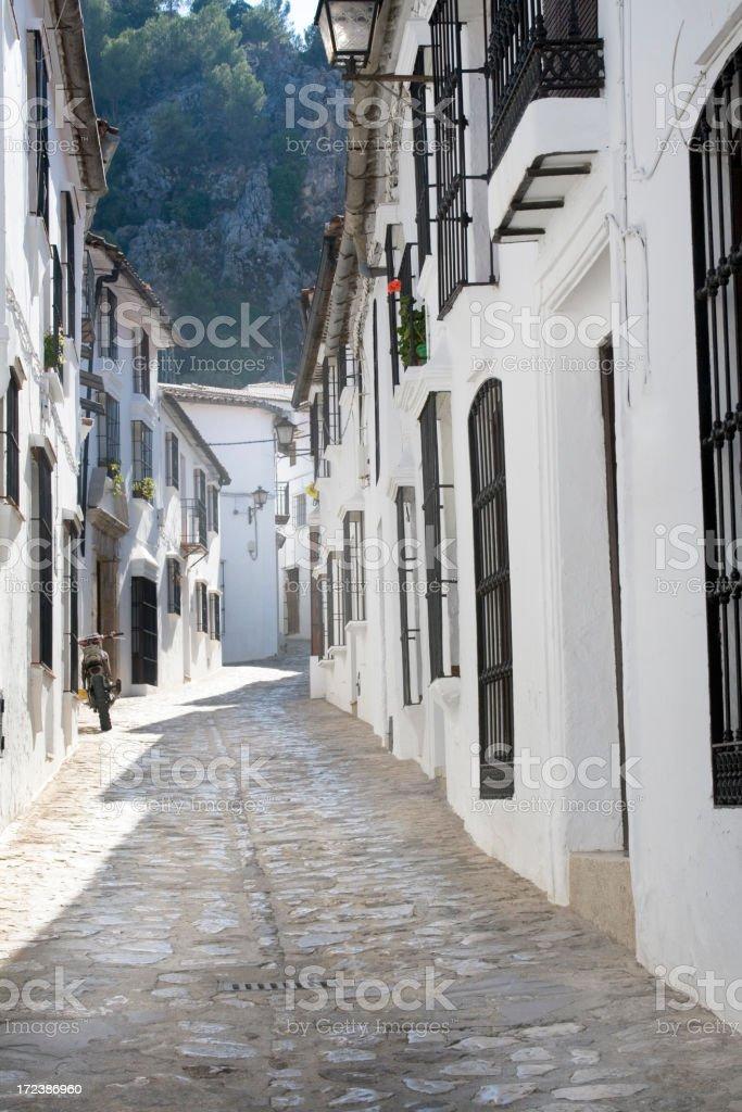 Pueblos blancos stock photo