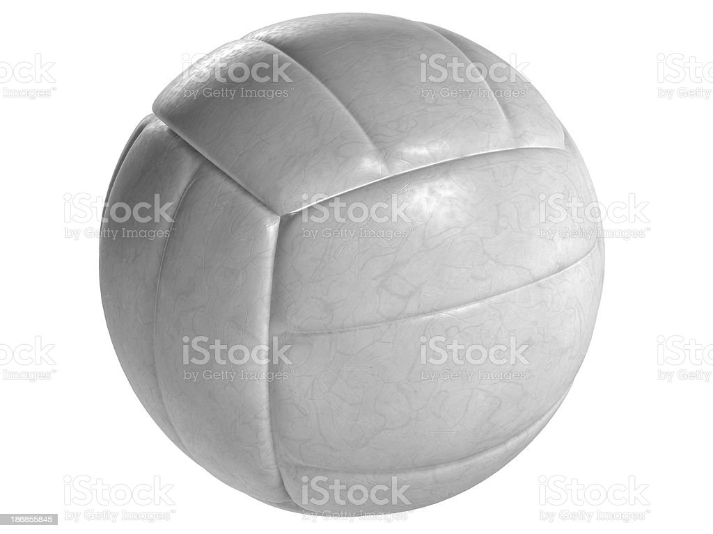 White volley ball royalty-free stock photo