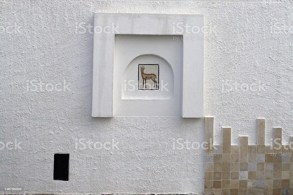 white mur photo libre de droits