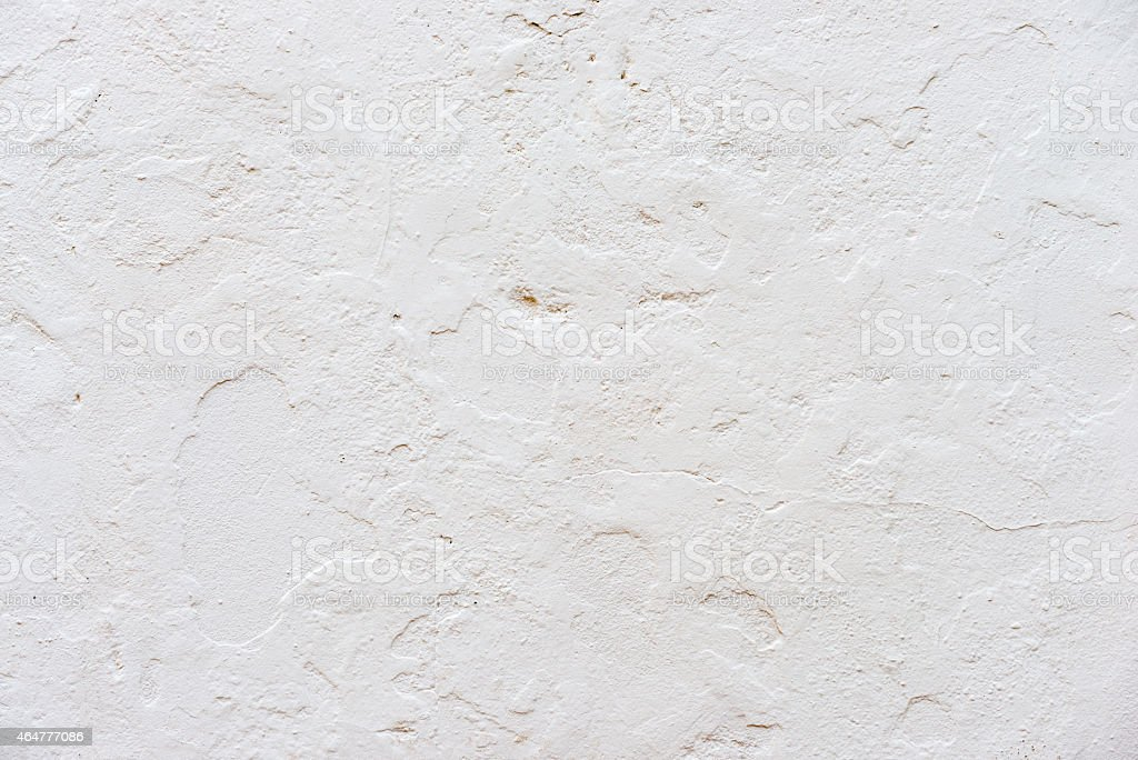 White wall plaster textured background stock photo