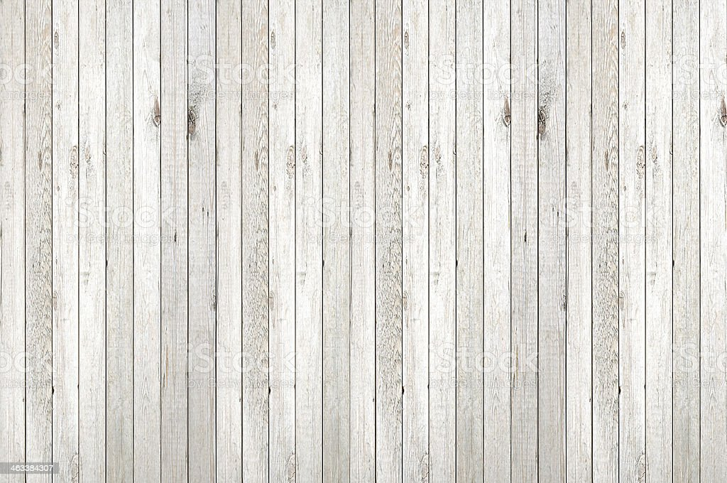 White washed vertical wood panel background stock photo